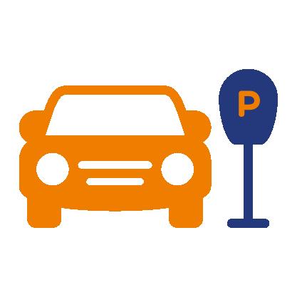 Automobile parcheggiata