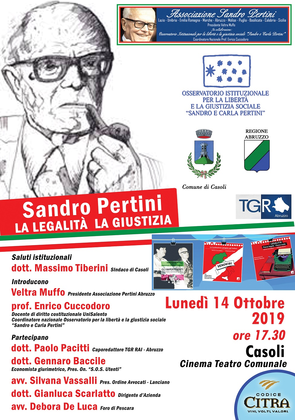 Sandro Pertini Casoli 2019
